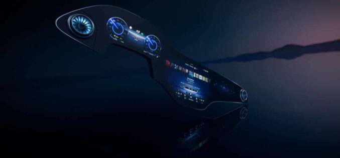 Mercedes predstavlja MBUX inteligentni hiper ekran