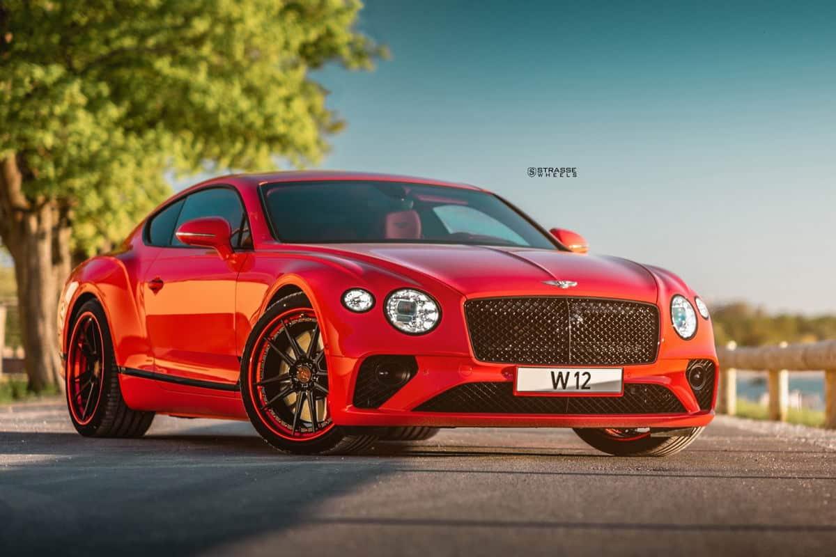 Bentley Continental GT Strasse Wheelss