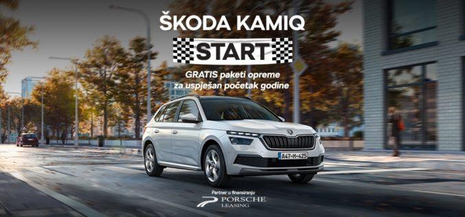 ŠKODA KAMIQ START prodajna akcija