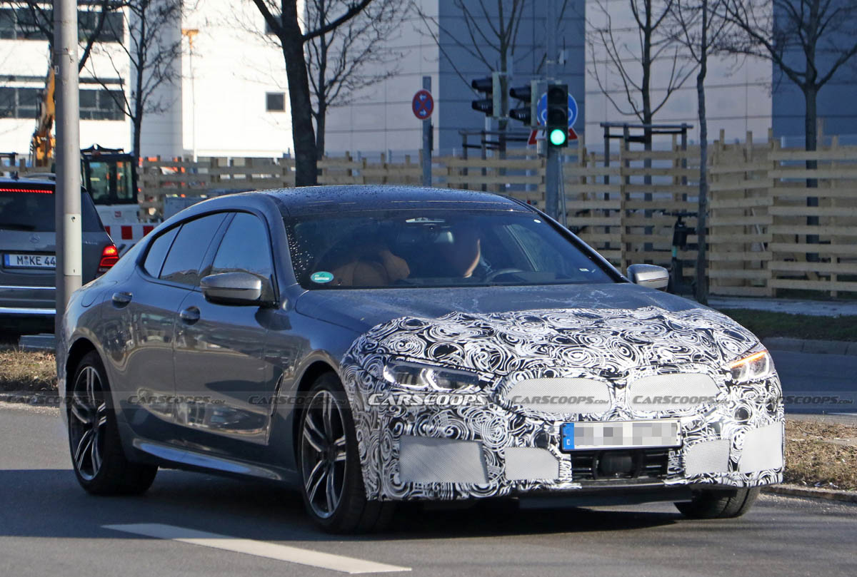 BMW 8 Series Gran Coupe facelift