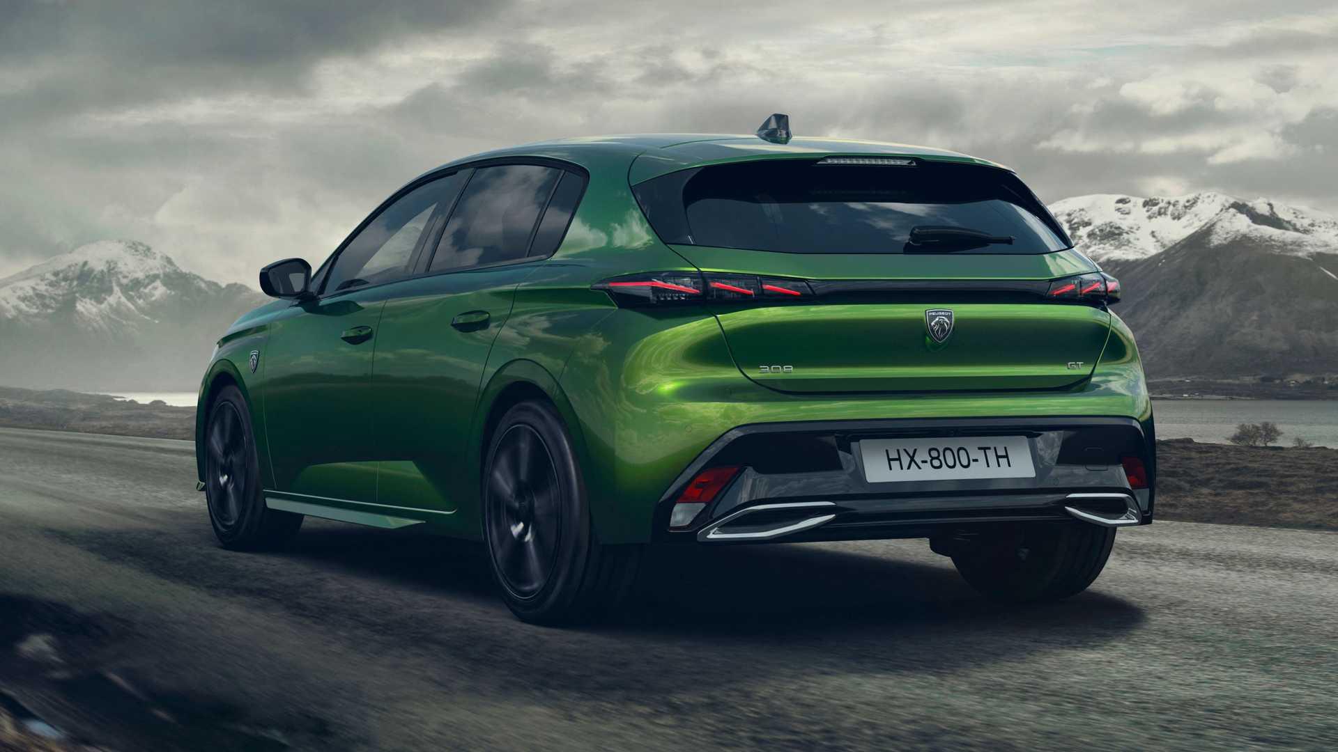 Novi Peugeot 308 2021