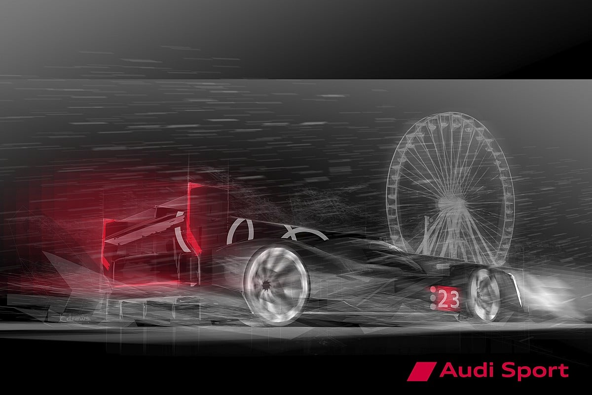 Audi LMDh koncept 2021