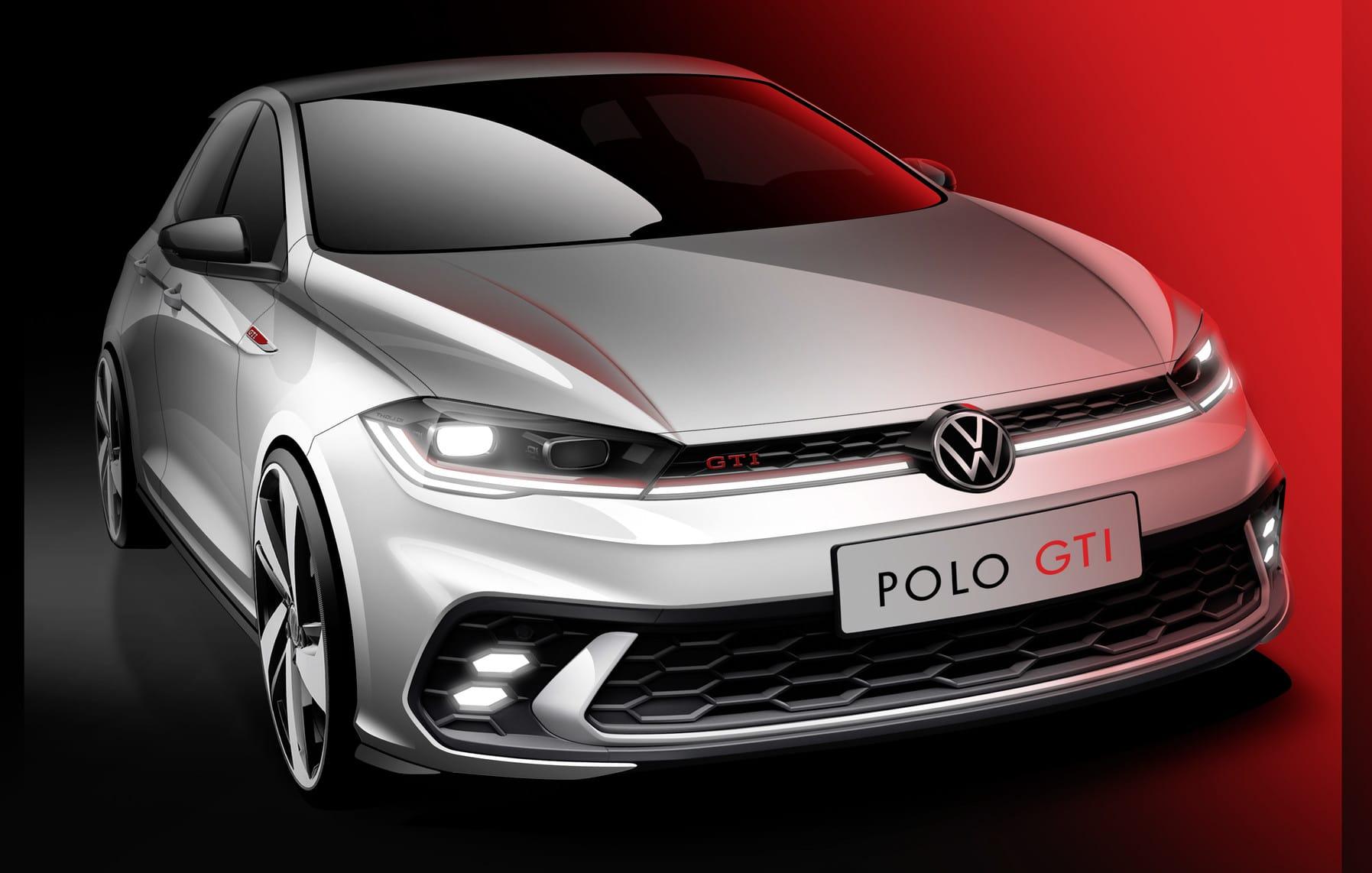 Volkswagen Polo GTI skica 2021