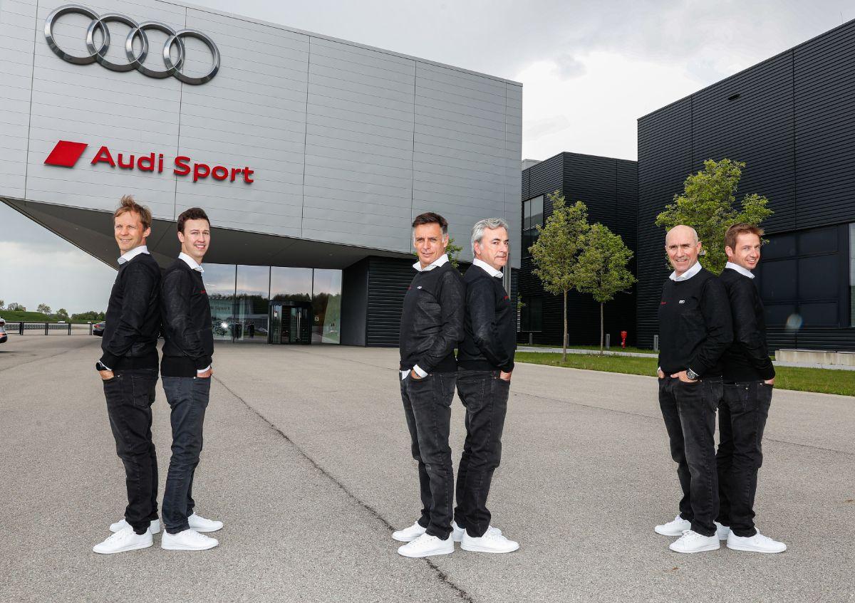 Audi Dakar 2022 team