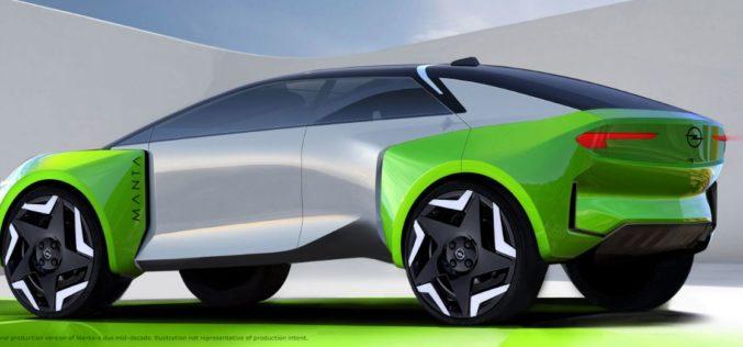 Opel kreće potpuno električno, ulazi na kinesko tržište i lansira Mantu-e