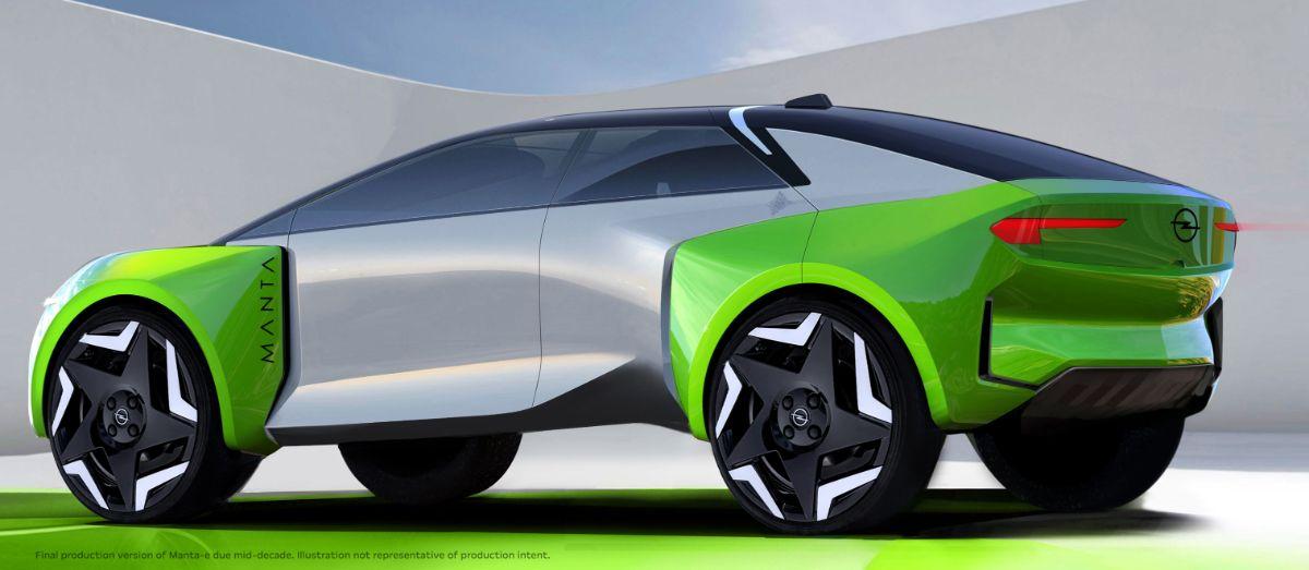Opel Manta e-Concept