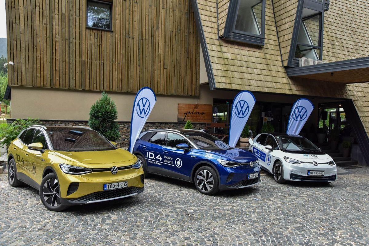 Volkswagen ID Press konferencija 2021, Sarajevo.