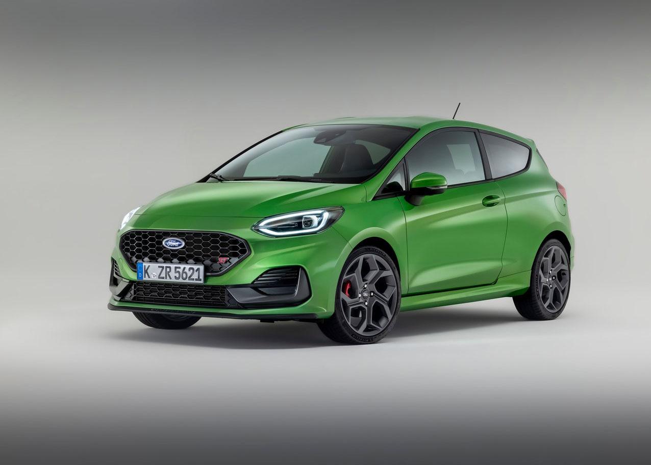 Ford Fiesta facelift 2021