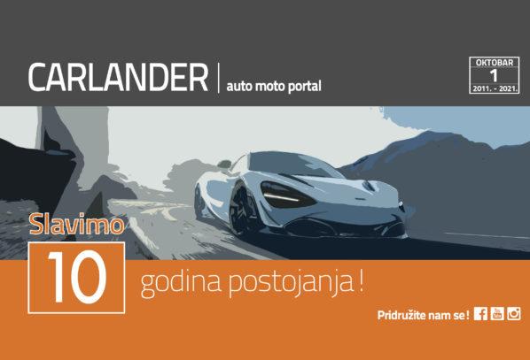 CARLANDER | auto moto portal slavi 10 godina postojanja